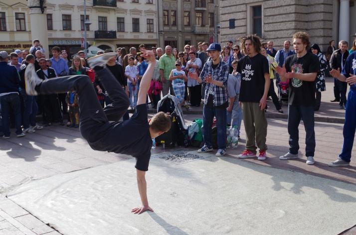 Dancing in Lviv