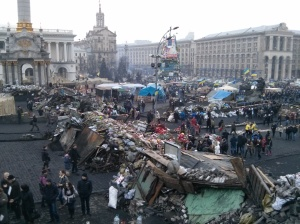 Maidan: The Center of  the People's Fight for Change