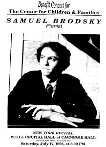 Samuel Brodsky Benefit Concert
